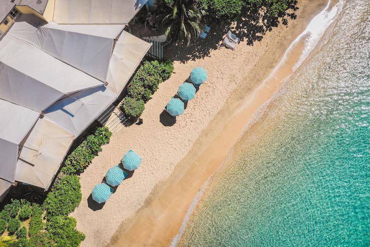 Bequia Beach Hotel Aerial