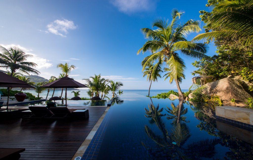 Banyan Tree Seychelles Pool