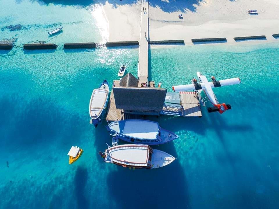 Underwater Maldives Banner