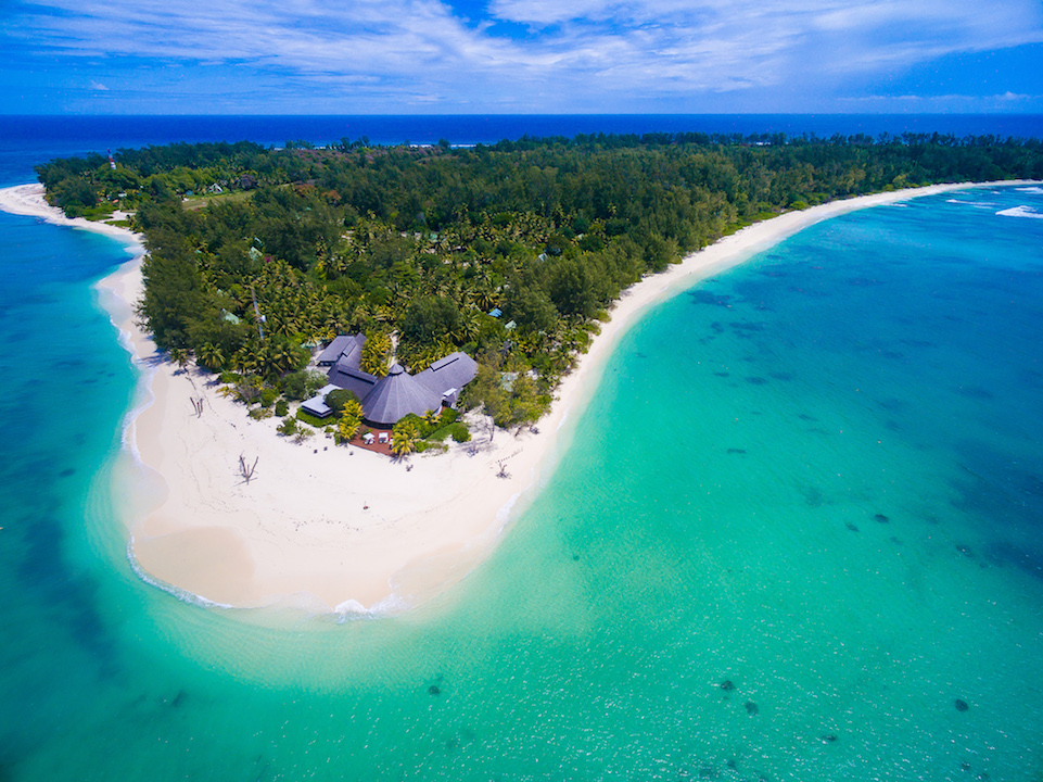 Denis Private Island Aerial