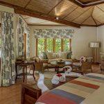 Denis Private Island Cottage Interior