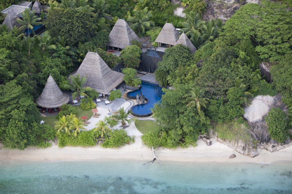 Maia Luxury Resort and Spa Aerial