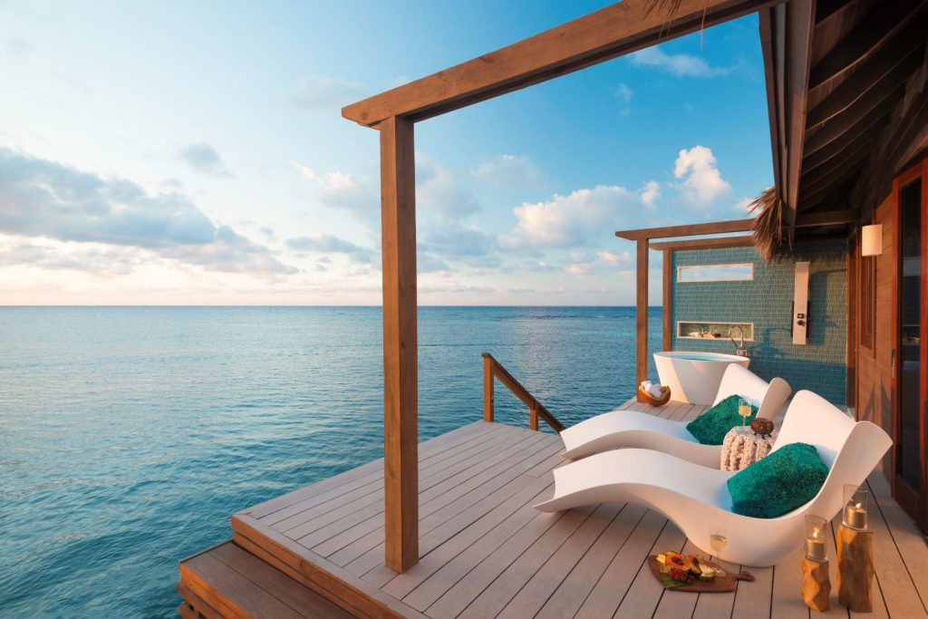 Sandals Royal Caribbean Over-the-Water Bungalow Decking