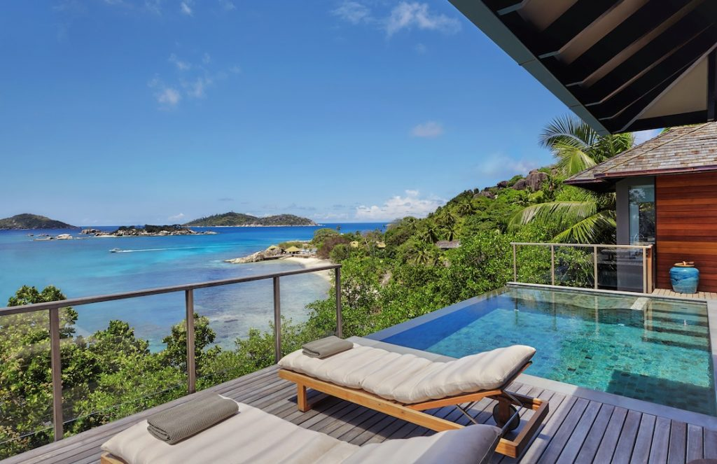 Six Senses Zil Pasyon Ocean Front Pool