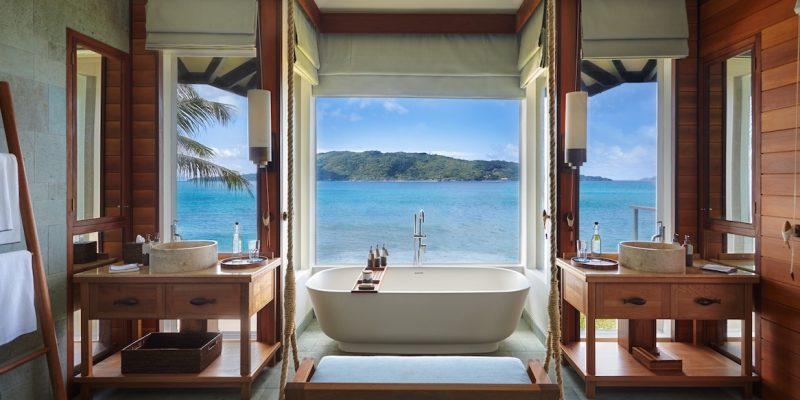 Six Senses Zil Pasyon Pool Villa Bathroom