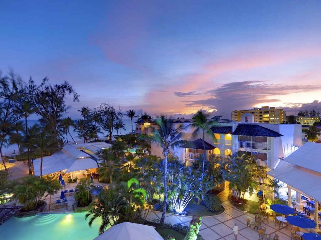 Turtle Beach Elegant Hotels Evening