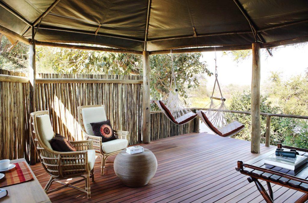 Amanzi Bush Camp Lodge Decking