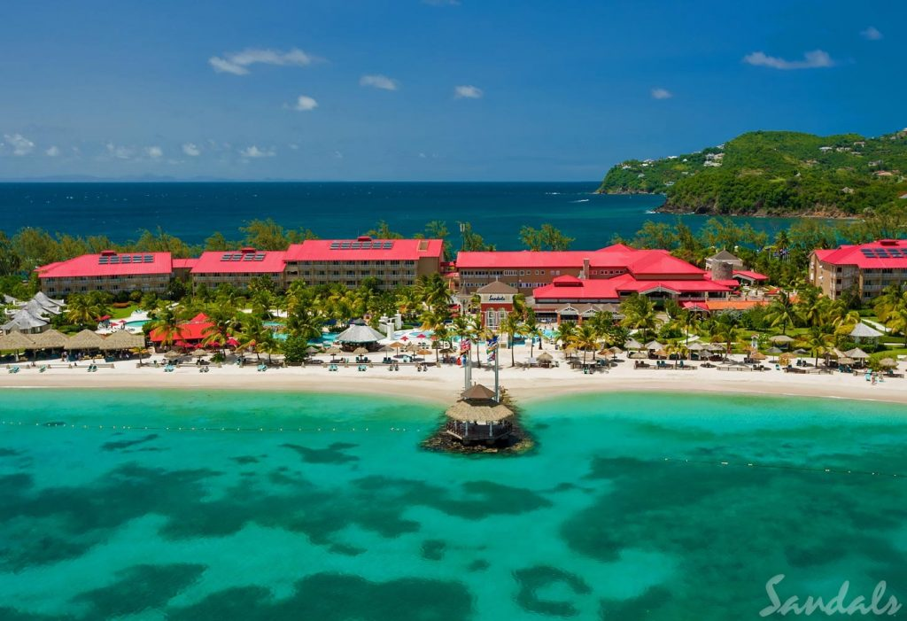 Sandals Grande St. Lucian Beach (2)