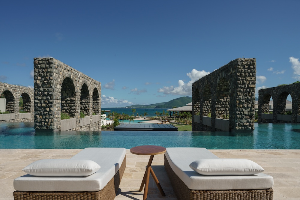park hyatt st kitts rampart pool