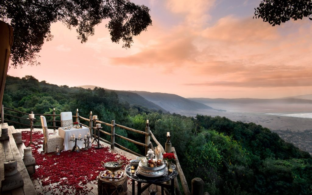 andBeyond Ngorongoro Crater Lodge View