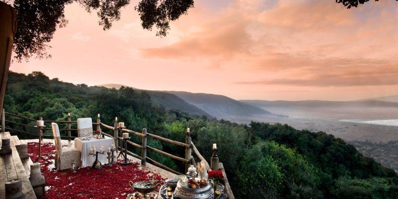 andBeyond Ngorongoro Crater Lodge View