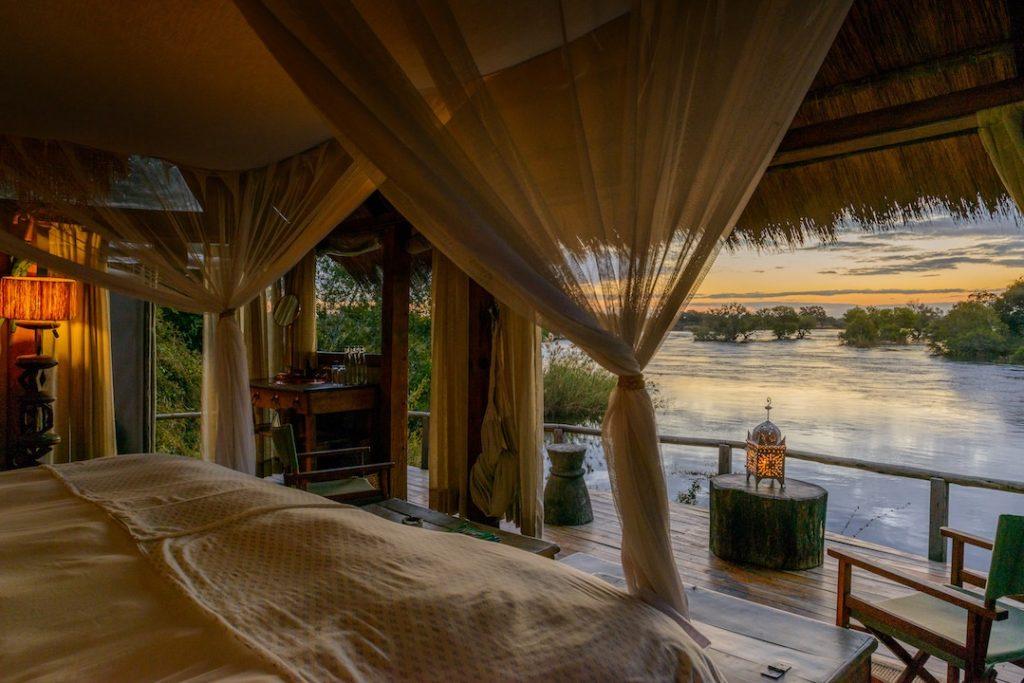 Sindabezi Island Bedroom View