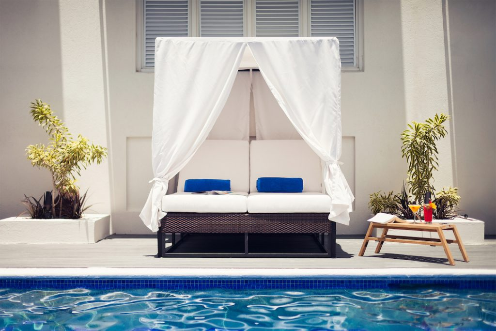 Waves Elegant Hotels Lounger and Pool