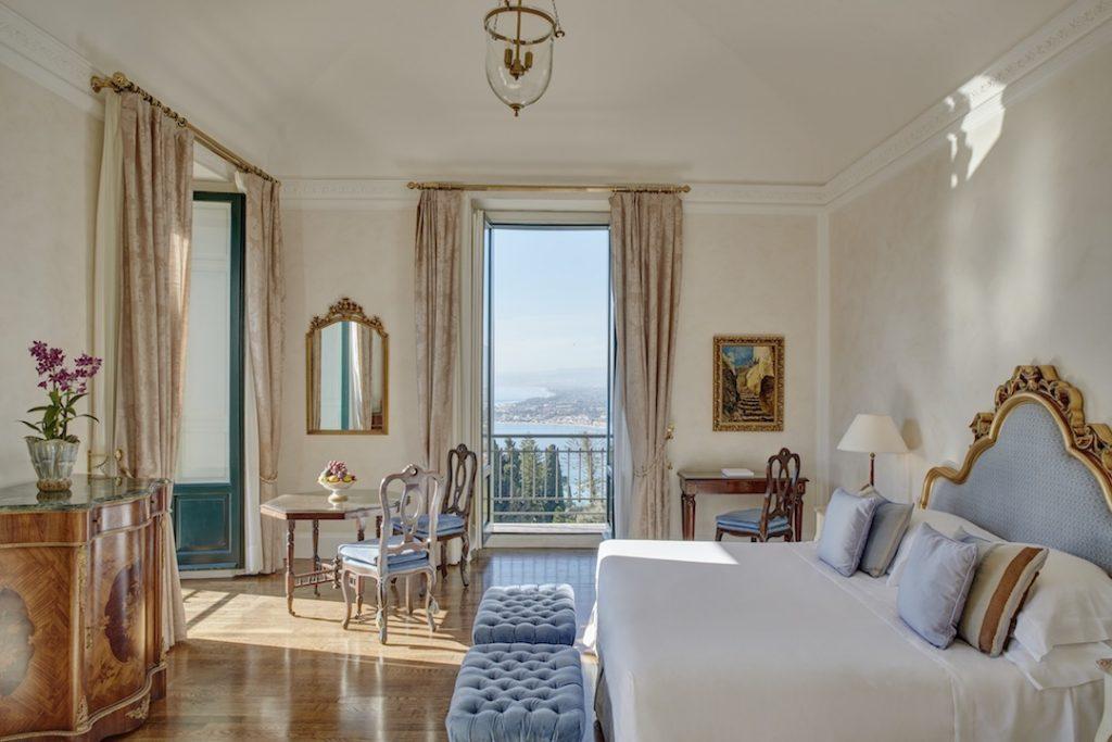 Belmond Grand Hotel Timeo Bedroom