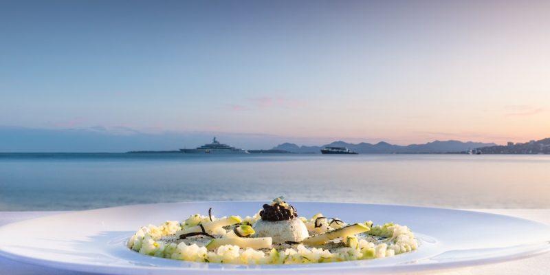 Cap d'Antibes Beach Hotel Dinner Restaurant Les Pecheurs