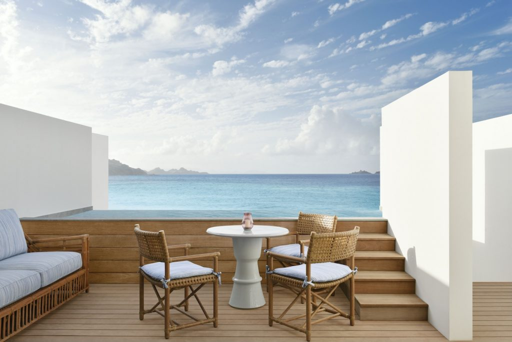 Cheval Blanc St. Barts France Room Terrace