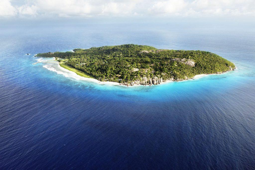 Fregate Island Aerial