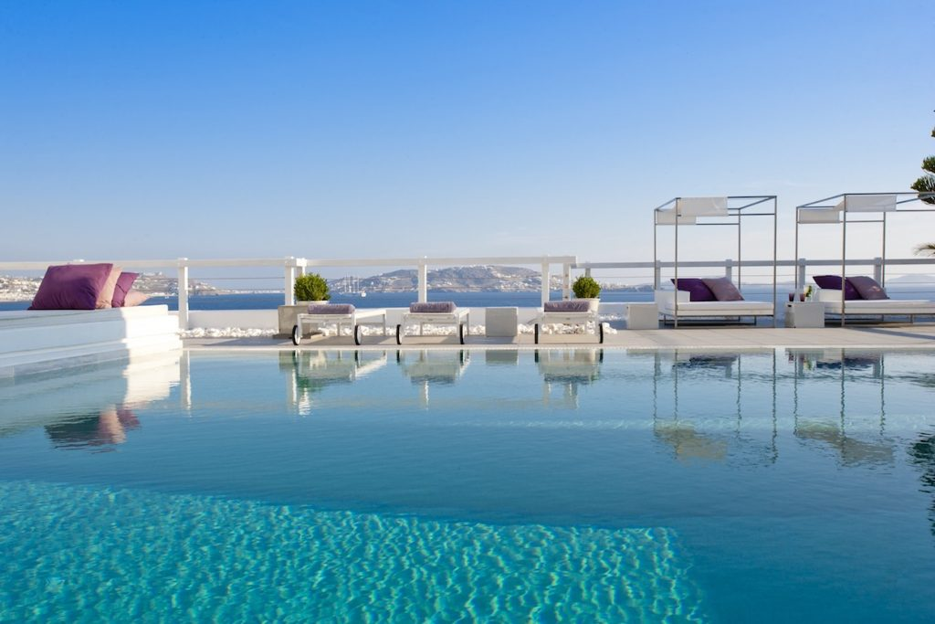 Grace Mykonos Swimming Pool