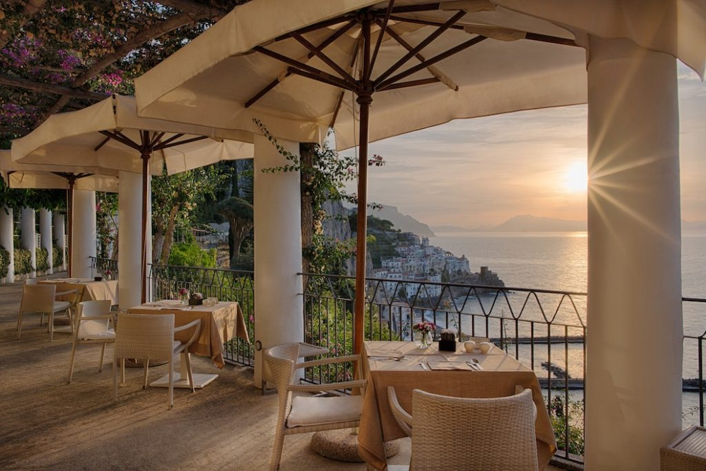Grand Hotel Convento di Amalfi Sunset