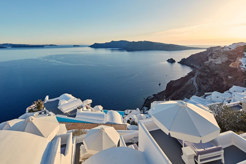 Katikies Santorini Sunset View
