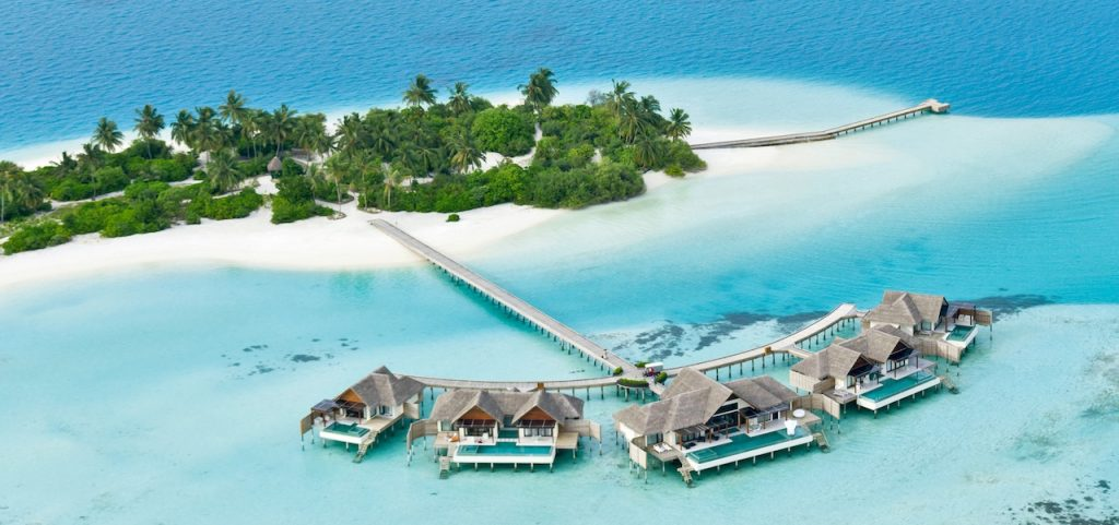 Niyama Private Islands Aerial
