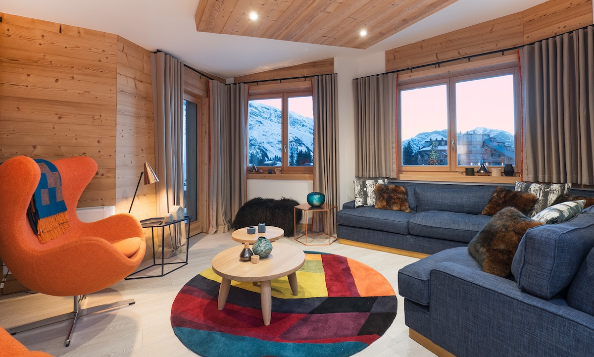 Avoriaz No. 1 Penthouse Living Room (Banner)