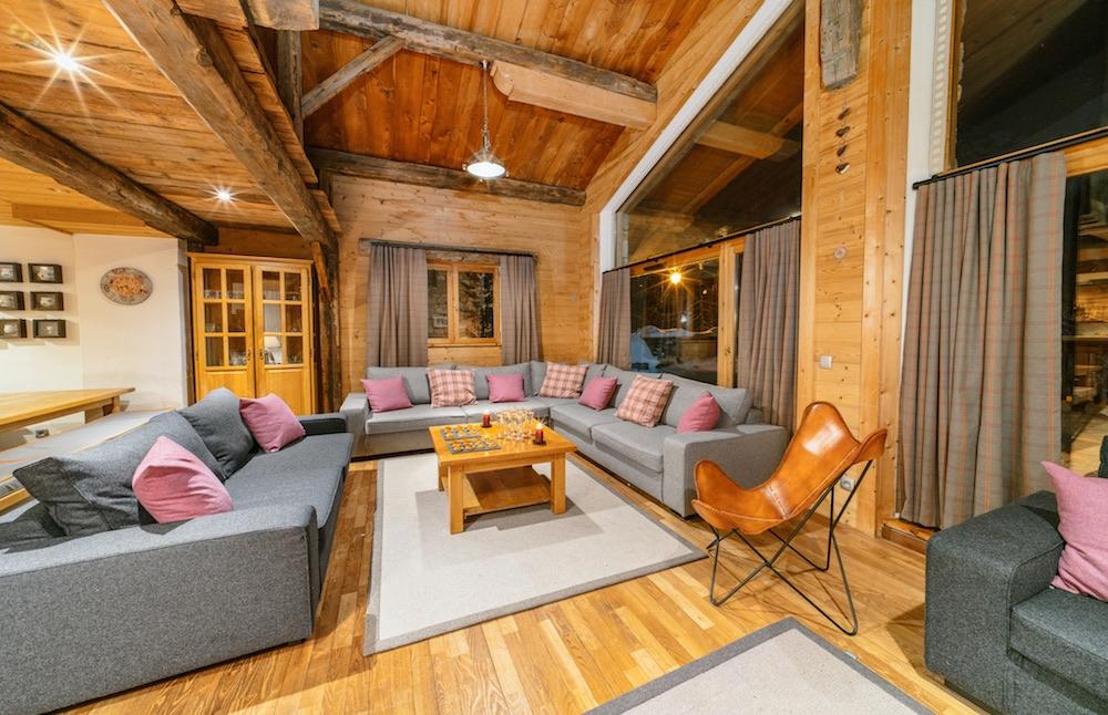 Chalet Bellevarde Lodge Chablis New Lounge