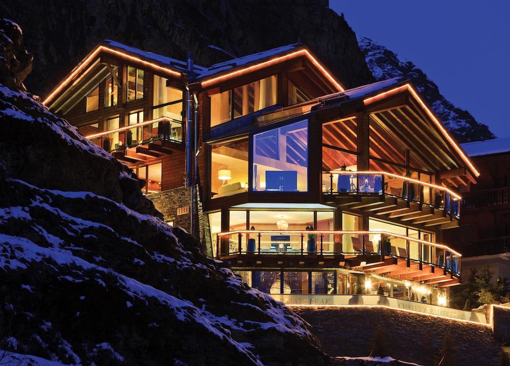 Zermatt Peak Exterior Banner