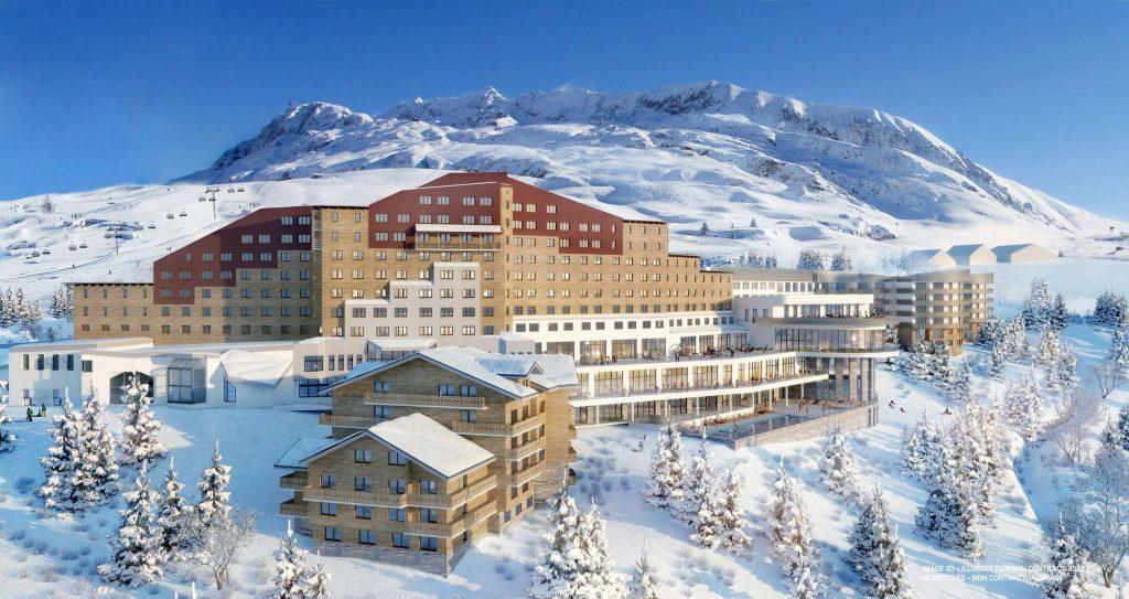 Club Med Alpe d'Huez External