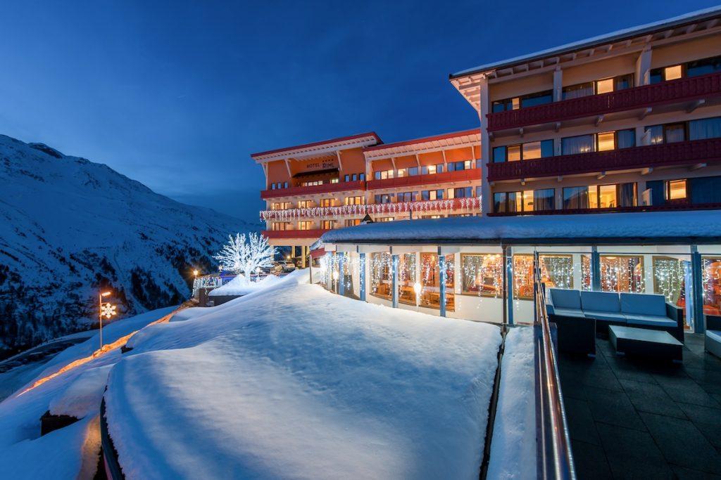 Hotel Riml exterior view