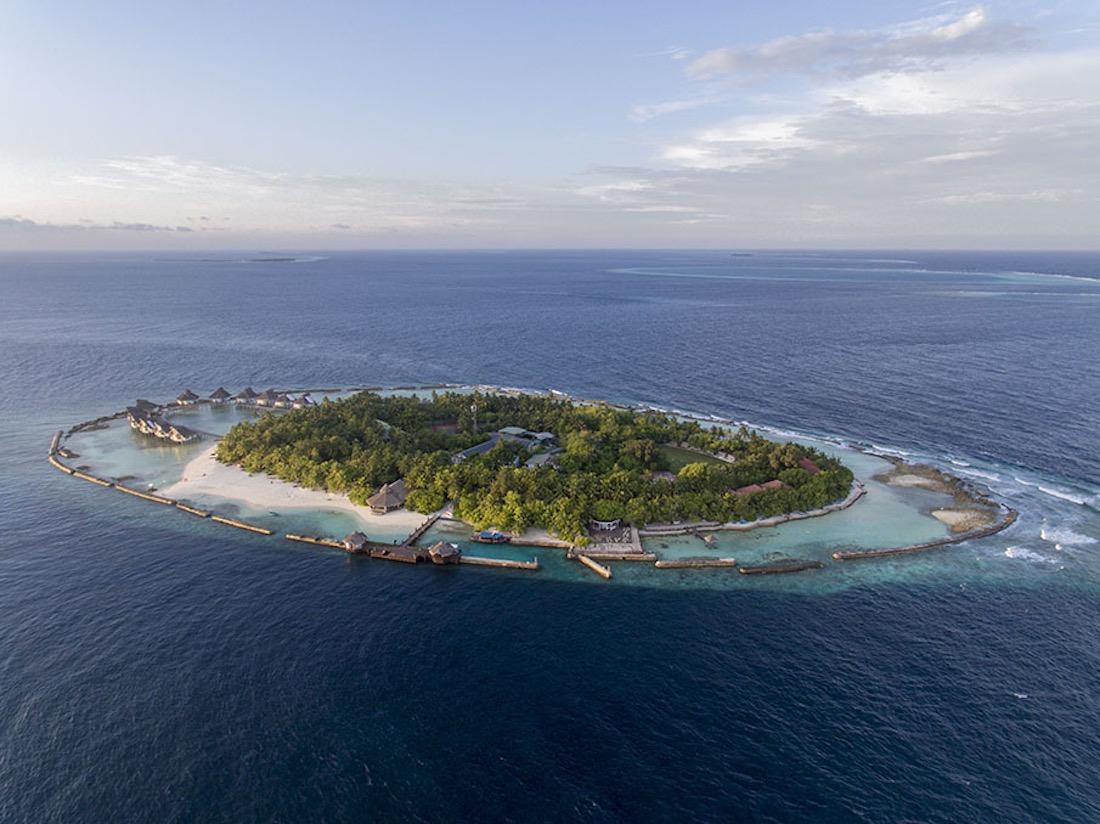 Ellaidhoo Maldives Aerial