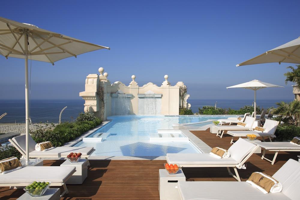 Italy Principe di Piemonte Rooftop Pool