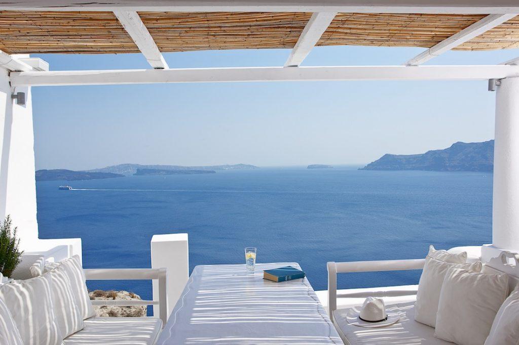 Villa Katikies Santorini Banner Photo