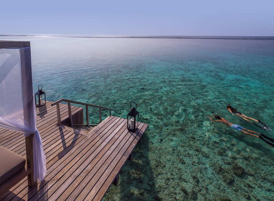 One&Only Reethi Rah Snorkelling