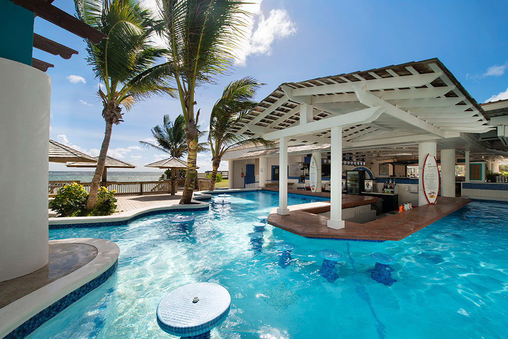 Coconut Bay Swim Up Pool Bar