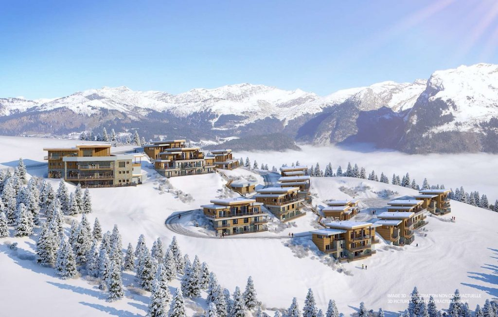 Club Med Grand Massif Chalet Apartments Exterior Overview