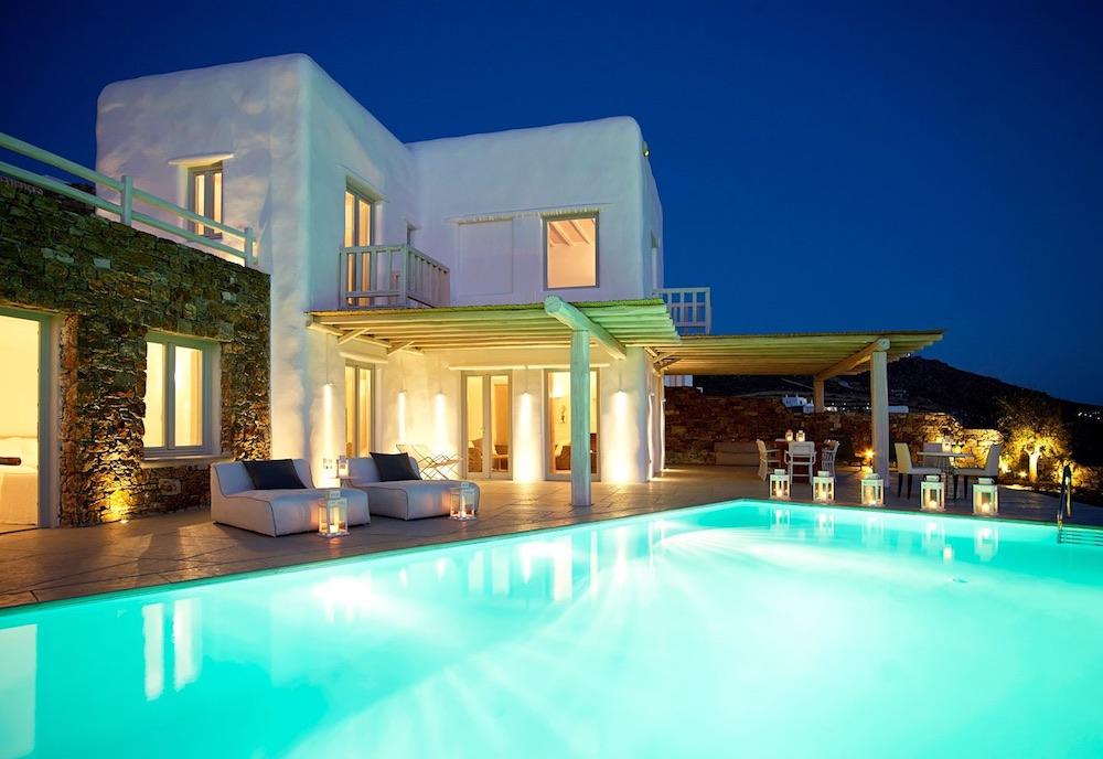 Villa Odile Evening