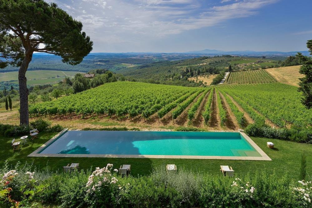 Villa Tenuta del Chianti Classico Vineyards