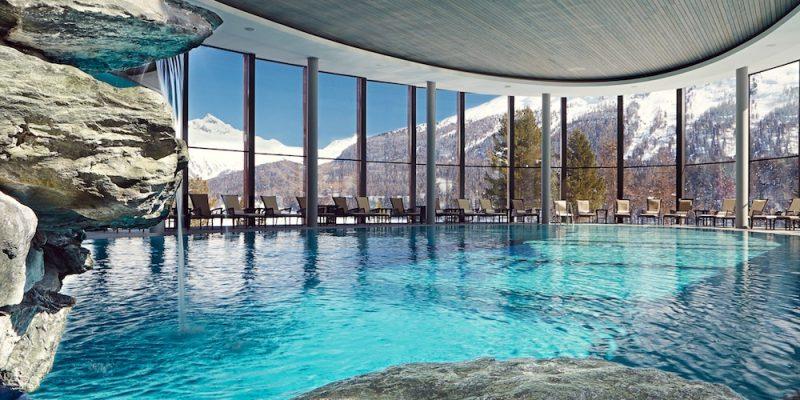 Badrutt's Palace St. Moritz Swimming Pool