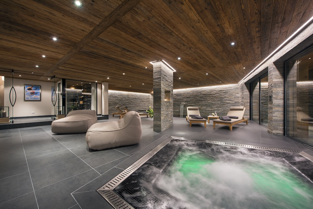 Chalet Sirocco Jacuzzi