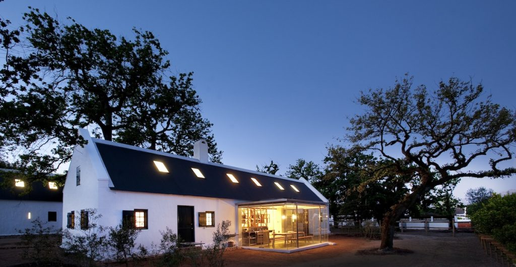 Babylonstoren Farm Hotel Exterior Evening