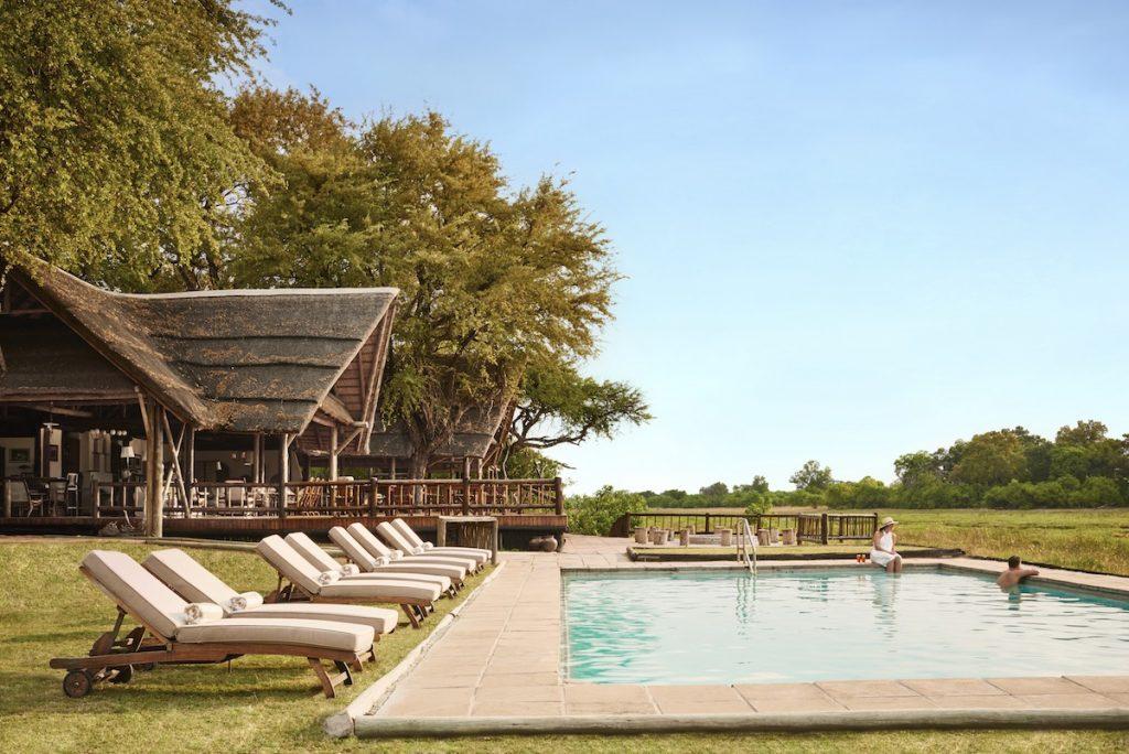 Belmond Khwai River Lodge Pool