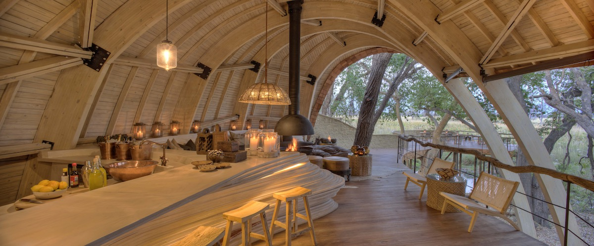 &Beyond Sandibe Okavango Safari Lodge Bar