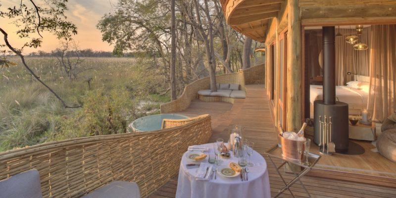 &Beyond Sandibe Okavango Safari Lodge Suite