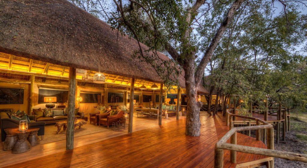 Camp Moremi Main Lodge