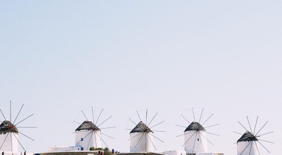Mini-moon to Mykonos