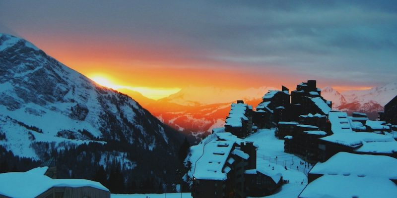 Avoriaz Sunset