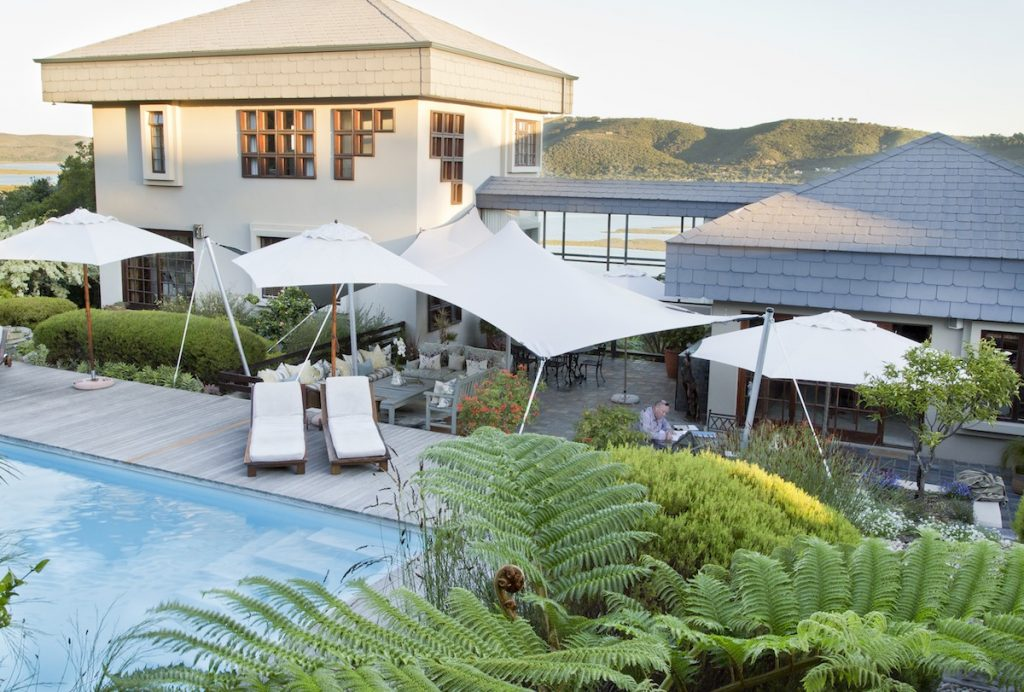 Kanonkop Guest House Pool And Lounge