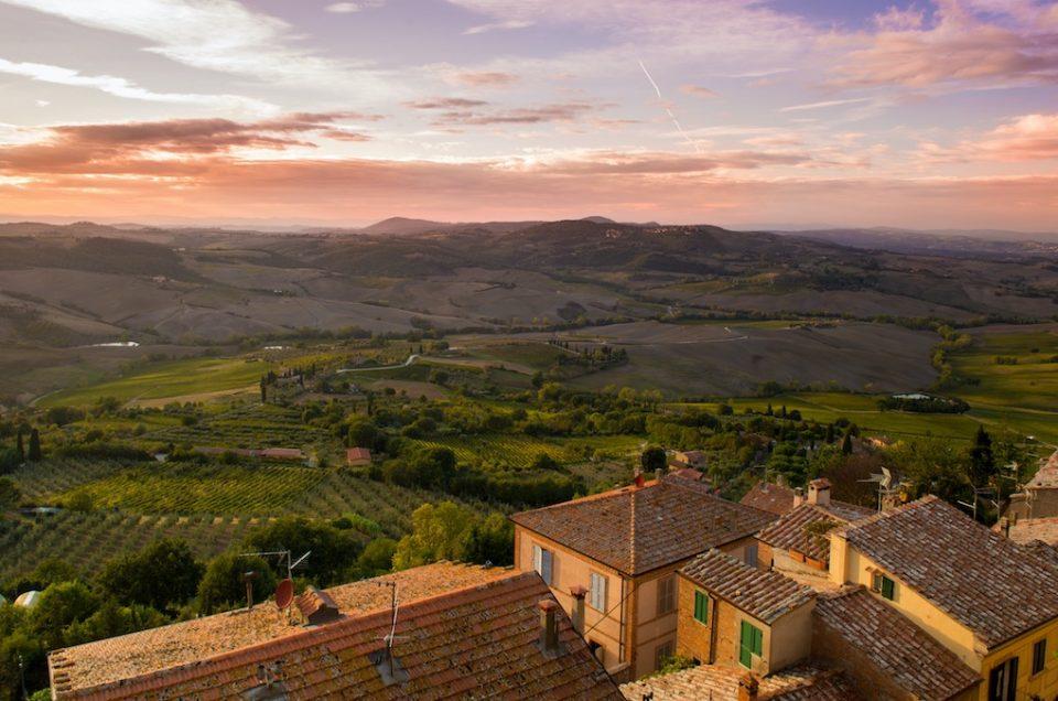 Exploring Tuscany through the vineyards