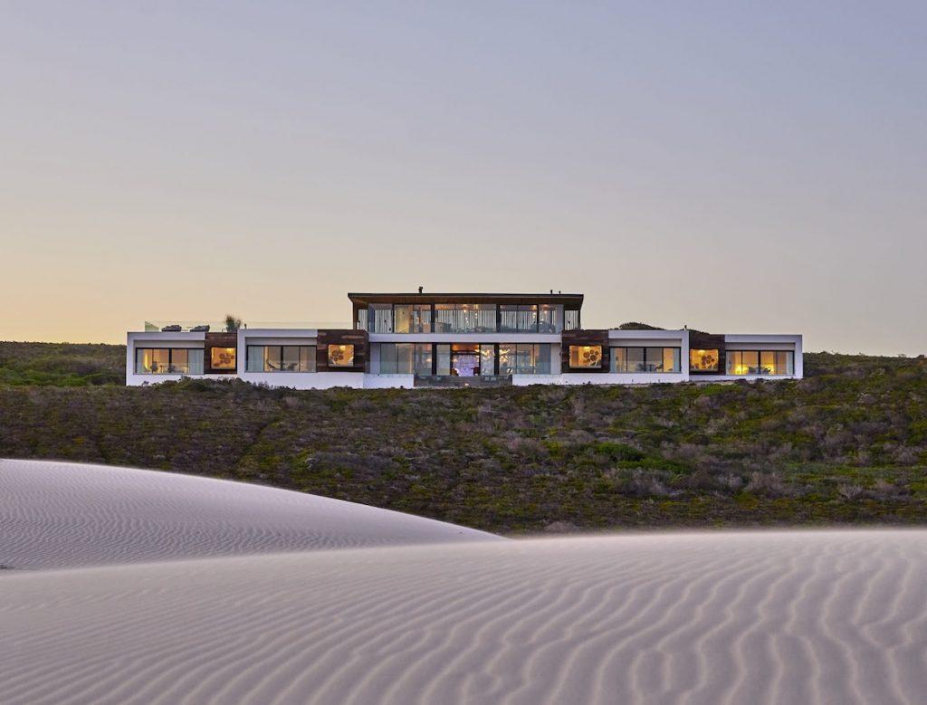 Morukuru Beach Lodge External Sunset